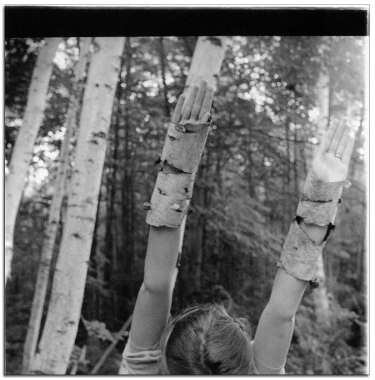 Francesca Woodman, Senza Titolo, MacDowell Colony, Peterborough, New Hampshire 1980