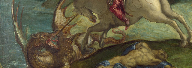 Saint George and the Dragon - Google Art Project2