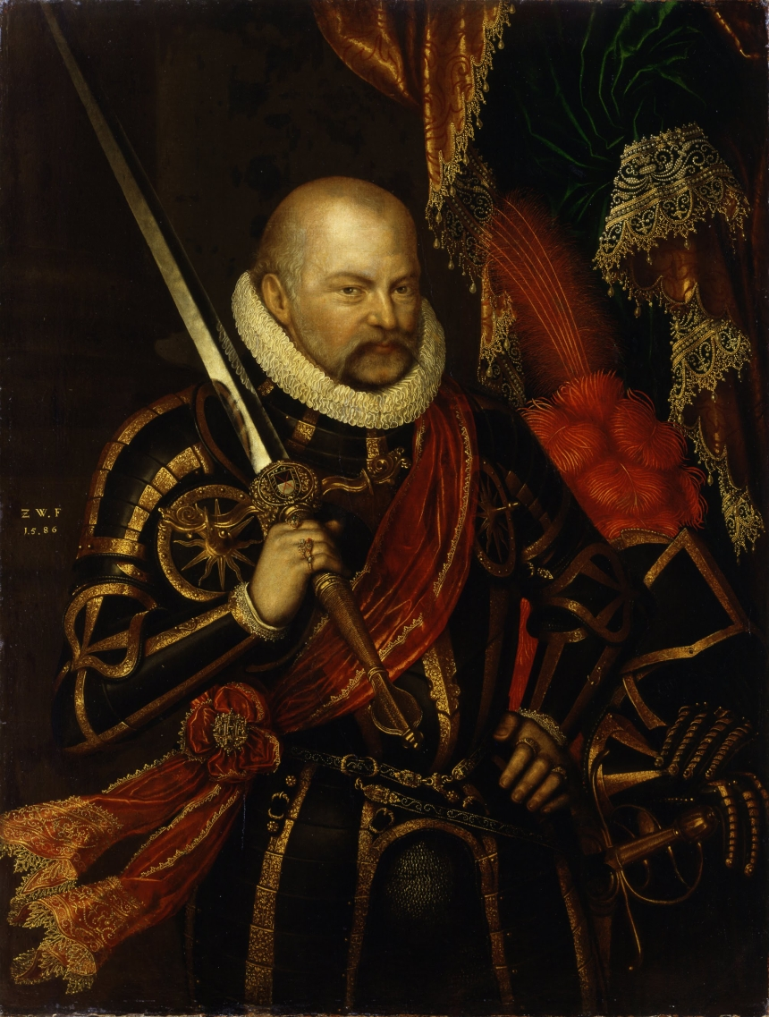 Portrait of Prince Elector August of Saxony (1526-1586)