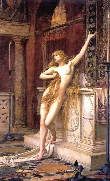 Hypatia_(Charles William Mitchell)