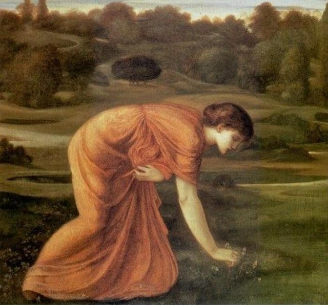 Edward Burne Jones- The March Marigold