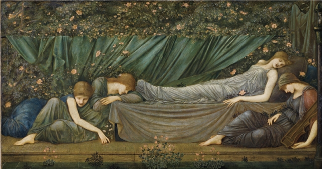 Edward Burne Jones- The Sleeping Princess