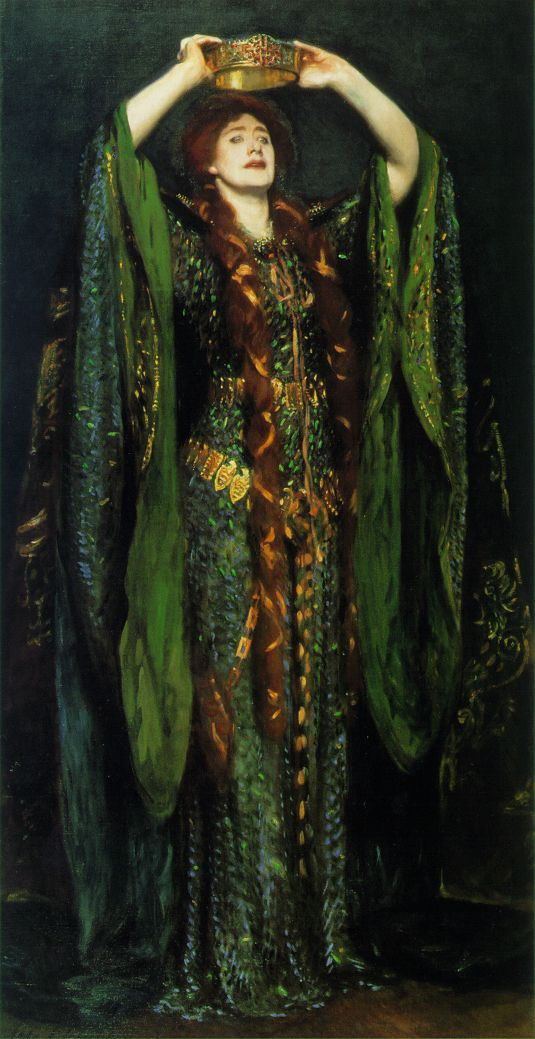 John Singer Sargent - Ellen Terry as Lady Macbeth