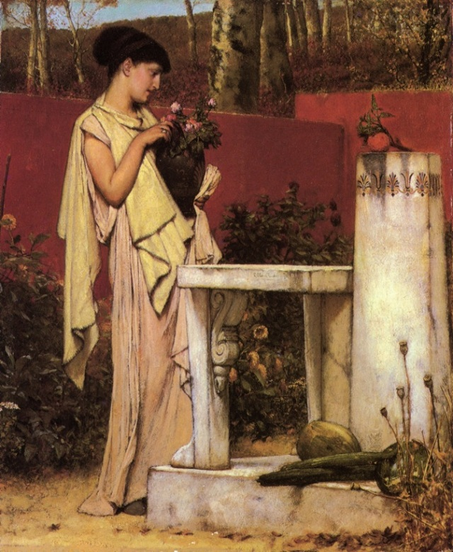 The Last Roses - Lawrence Alma-Tadema