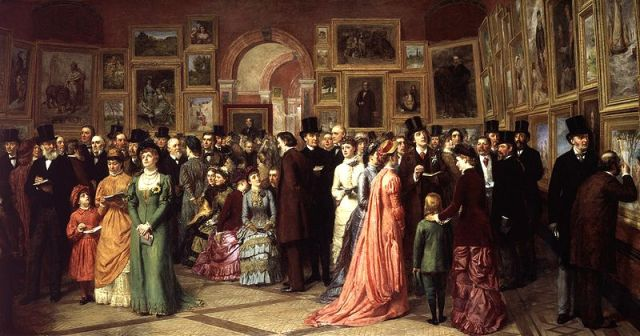The Private View of the Royale Academy -William Powell Frith