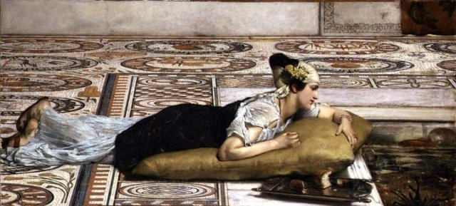 Waterpets - Lawrence Alma-Tadema