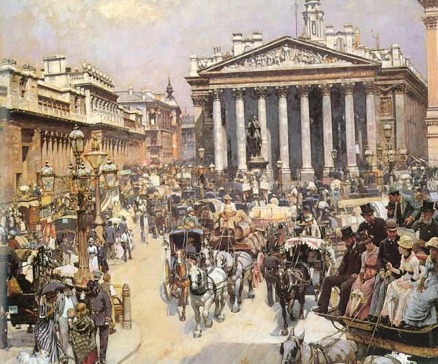 William Logsdailù - The Bank and the Royal Exchange
