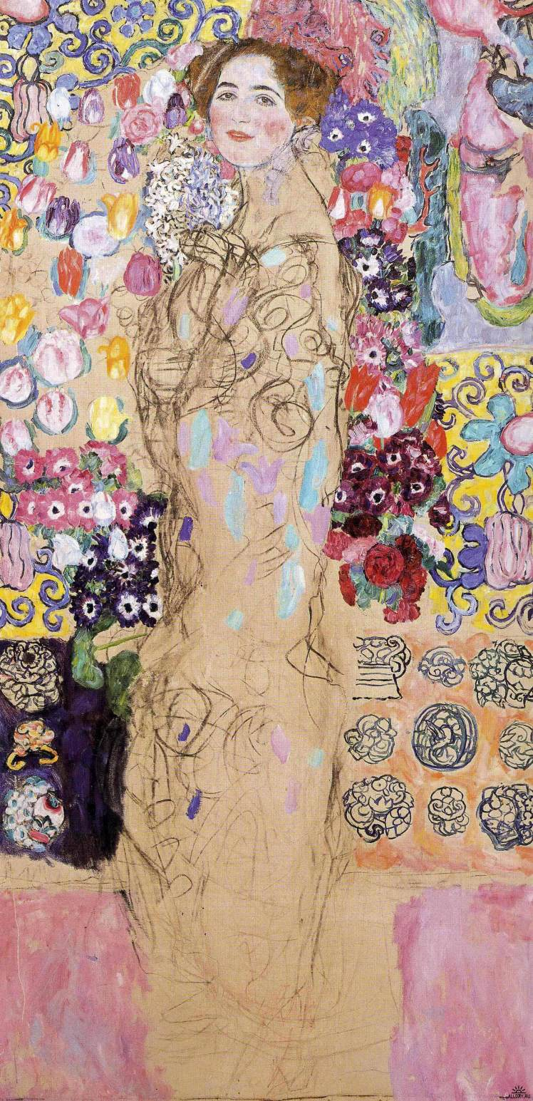 03_Portrait-of-Maria-Munk-unfinished-by-Gustav-Klimt