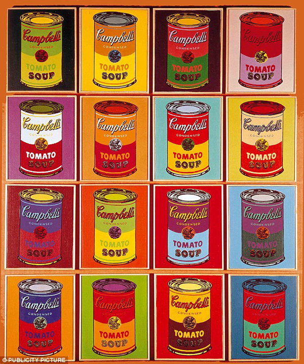 Campbells Soups - Andy Warhol