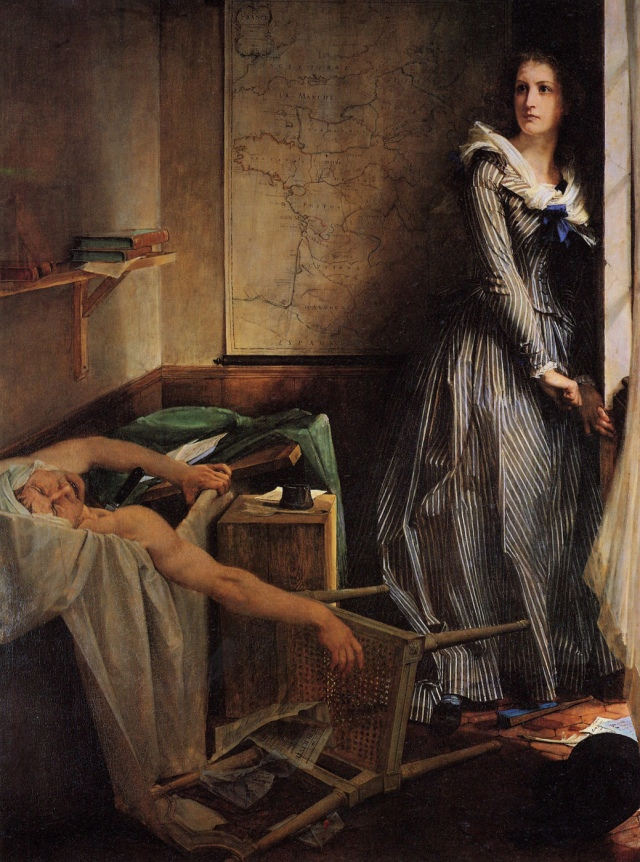 L'Assassinat de Marat / Charlotte Corday