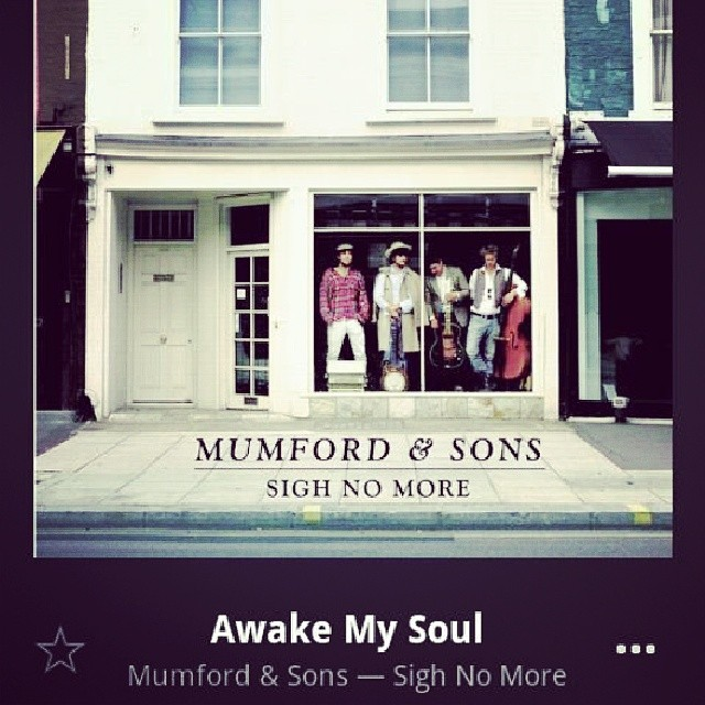 You were made to meet your maker - #Mumford&Sons