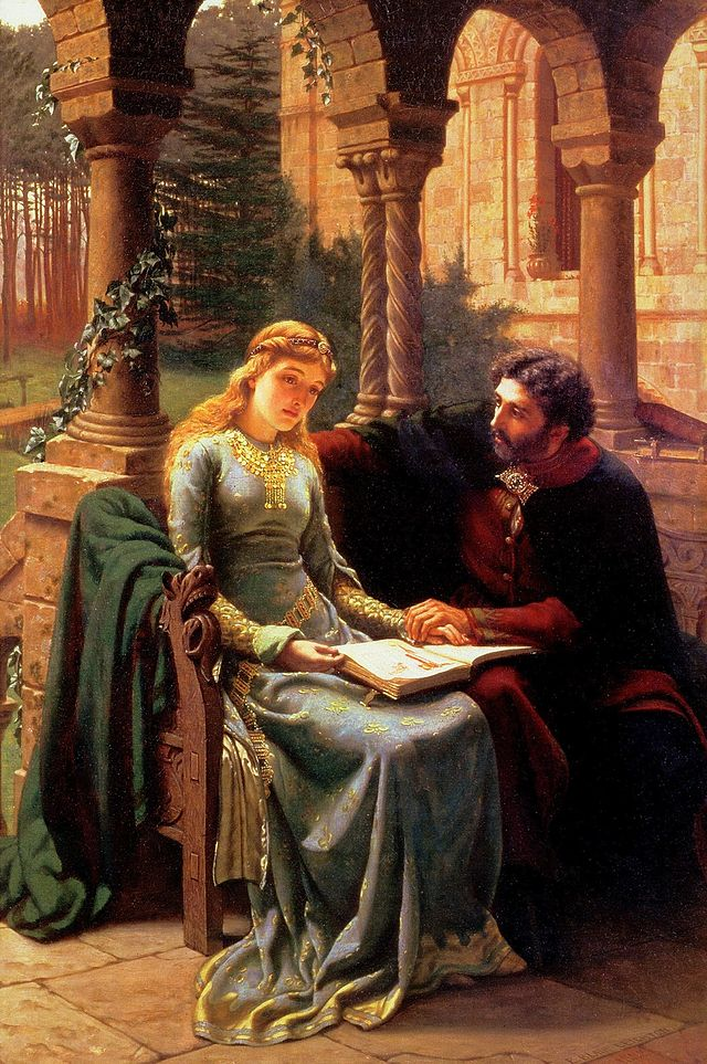 Abelard and his Pupil Heloise (1882)