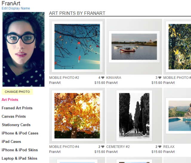 Art Prints by FranArt   Society6