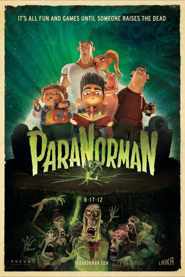 ParaNorman - Sam Fell e Chris Butler - 2012